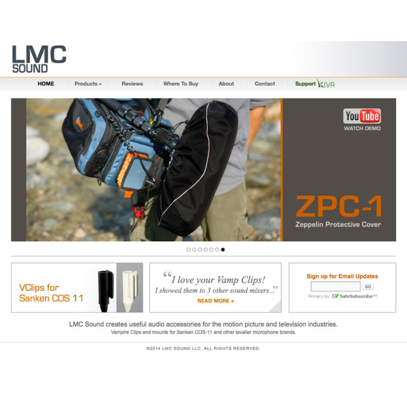 LMC Sound homepage