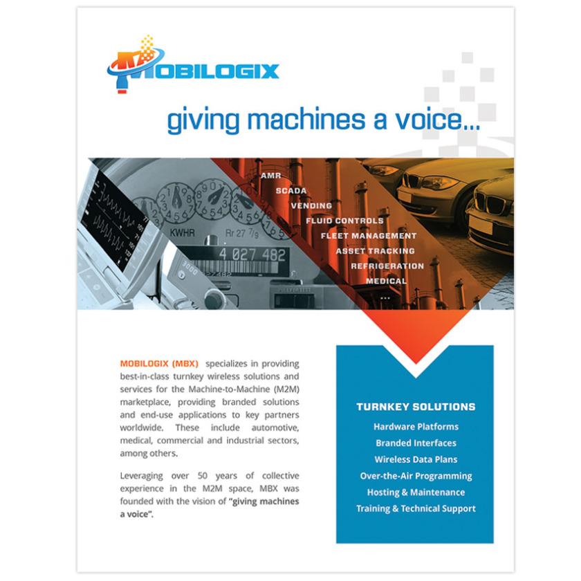 IMO MEDIA INC - Mobilogix Sales Sheet - IMO MEDIA INC